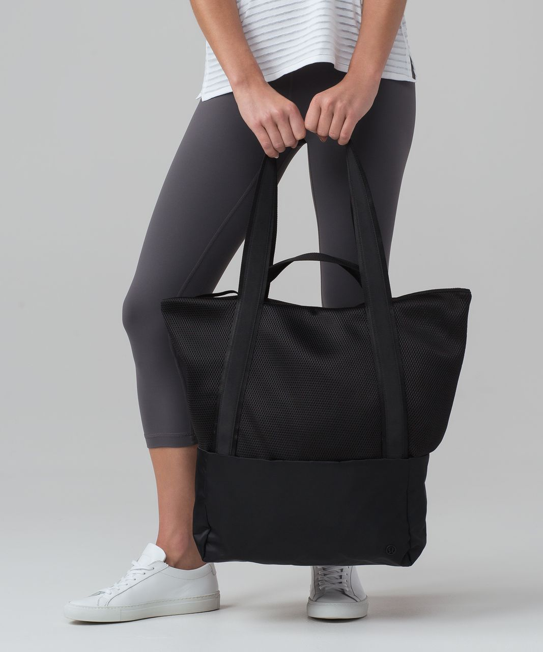 Lululemon Hot Mesh Tote 30l Black Lulu Fanatics