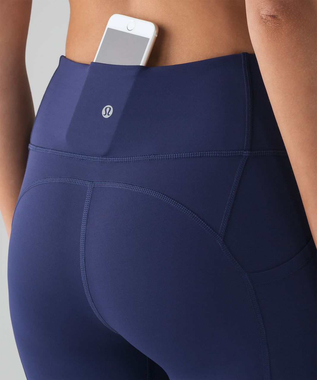 """Lululemon All The Right Places Crop II *23"""" - Blueberry Jam"""