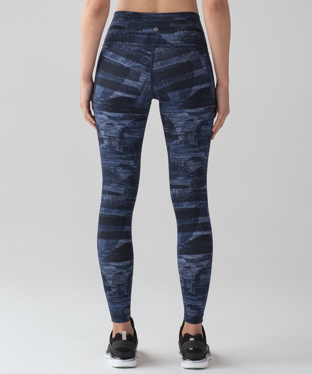 "Lululemon Wunder Under Hi-Rise Tight (Full-On Luxtreme 28"") - Transition Multi Midnight Navy"