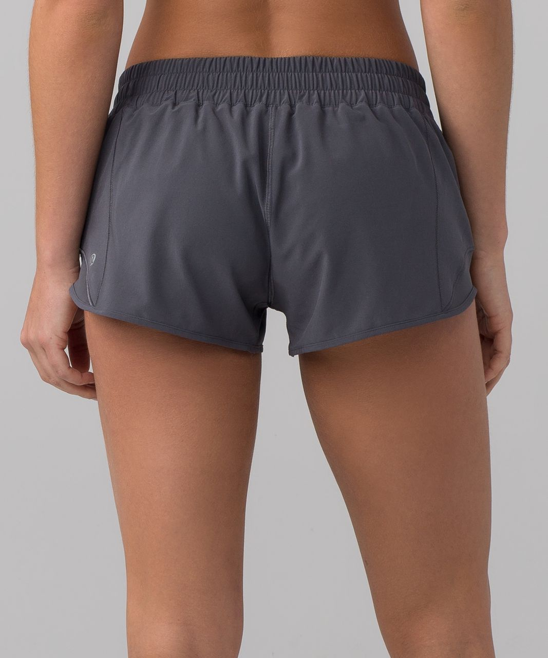 "Lululemon Hotty Hot Short II (2.5"") - Dark Carbon"