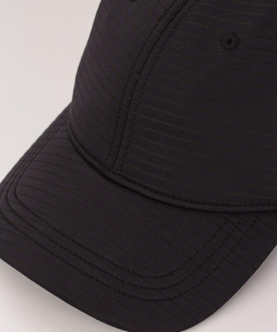Lululemon Baller Hat (Stripe Spacer) - Black