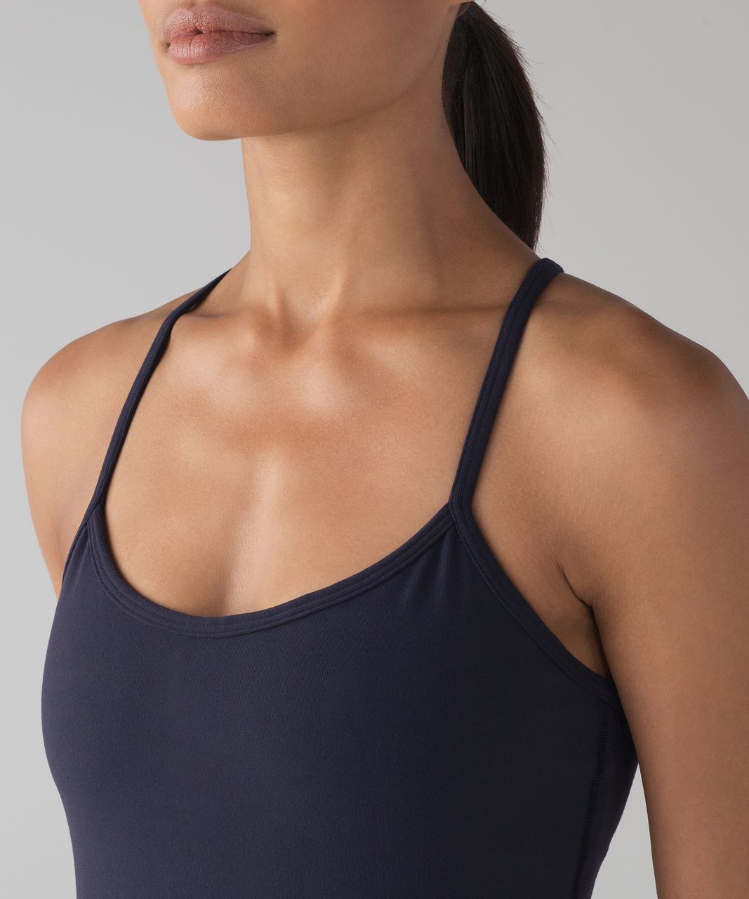 ae89f5e38039c Lululemon Power Y Tank - Midnight Navy - lulu fanatics