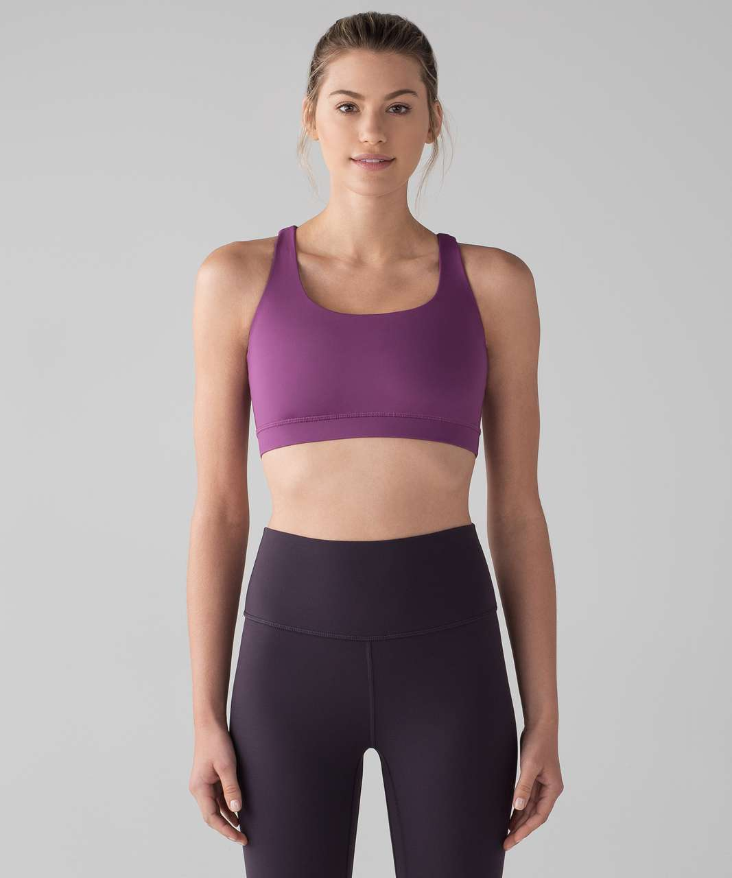 Lululemon Energy Bra - Dark Mystic