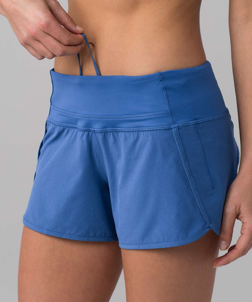 "Lululemon Run Times Short (4-way Stretch 4"") - Royal"