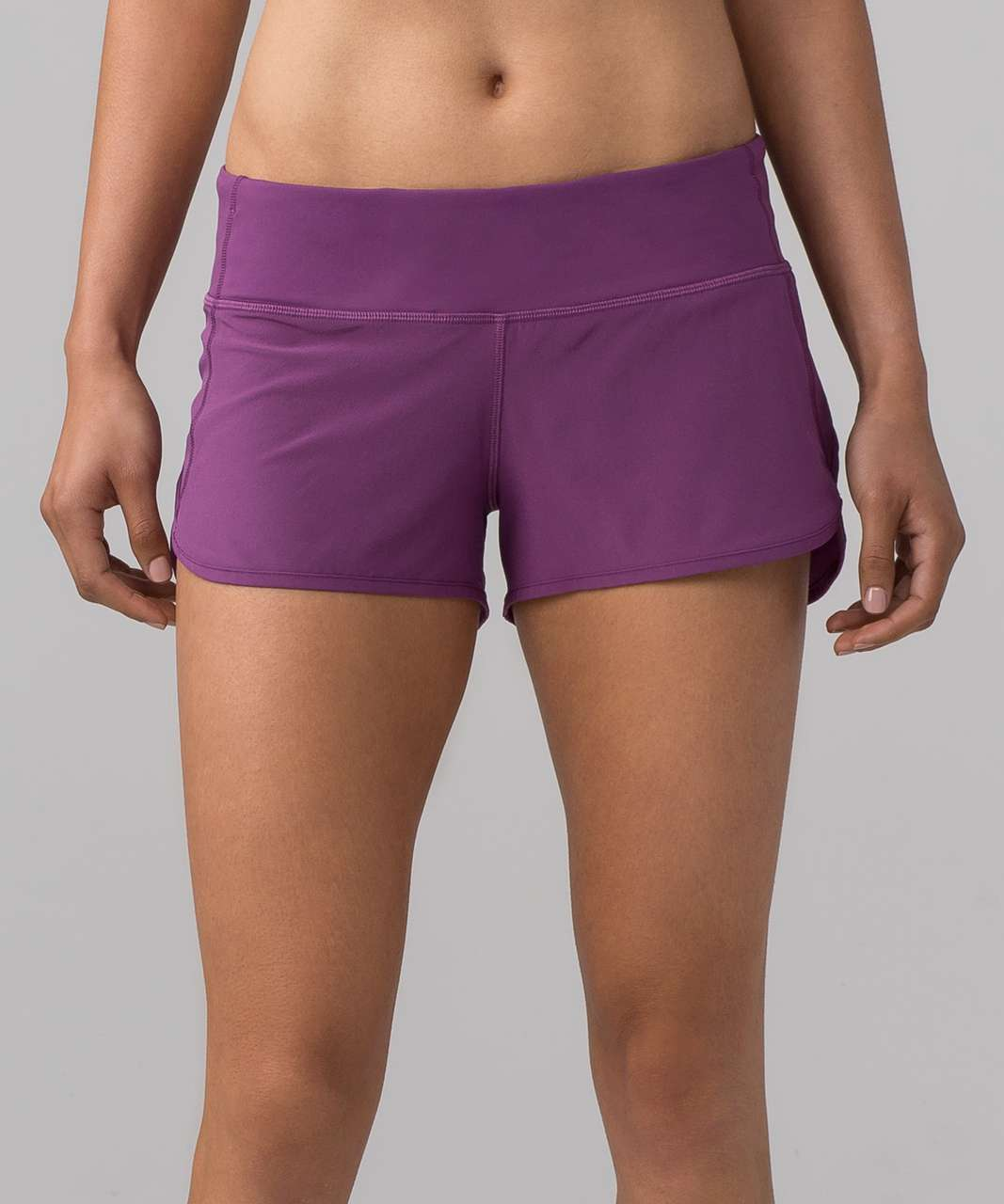 "Lululemon Speed Short (4-way Stretch 2.5"") - Dark Mystic"
