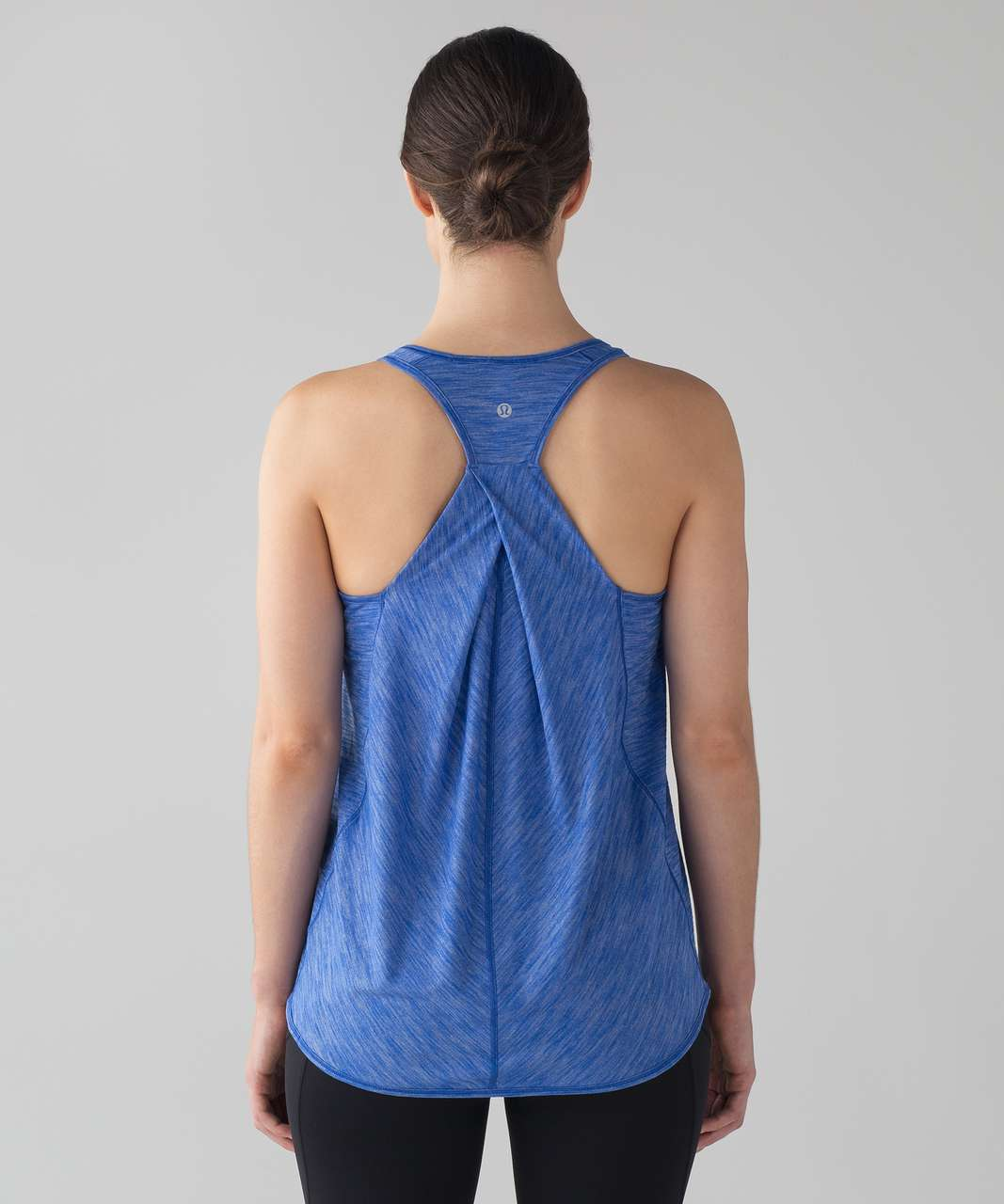 07e290f8e4ce5d Lululemon Essential Tank - Heathered Jet Stream - lulu fanatics