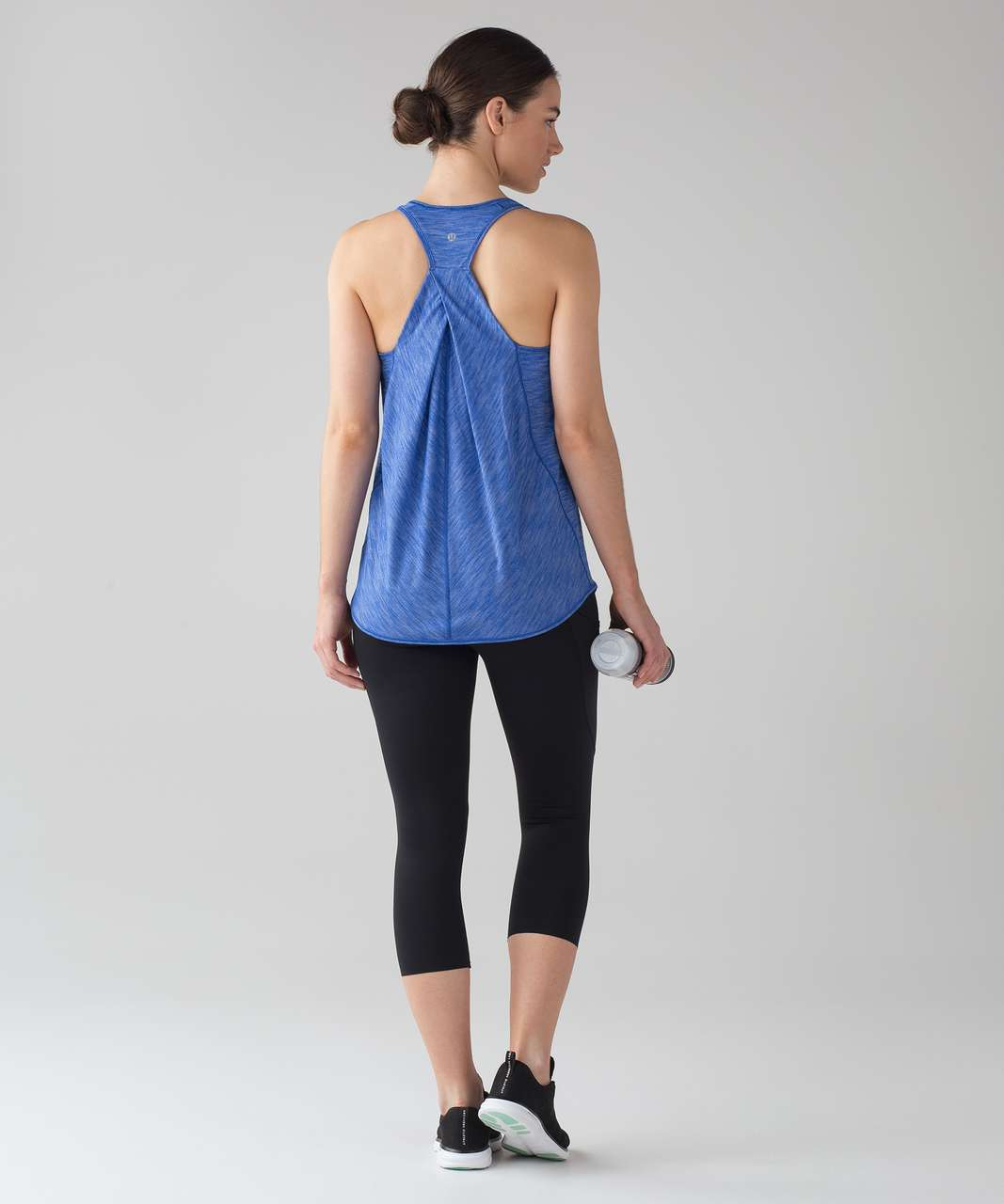 Lululemon Essential Tank - Heathered Jet Stream