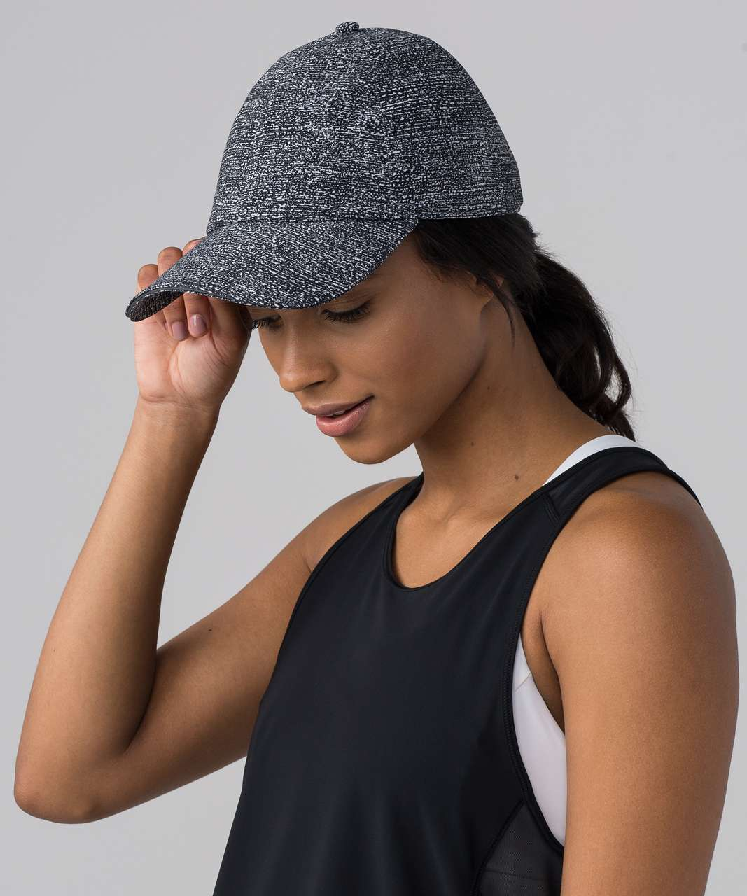 c1ff1e5d Lululemon Baller Hat Run - Salt Alpine White Black - lulu fanatics