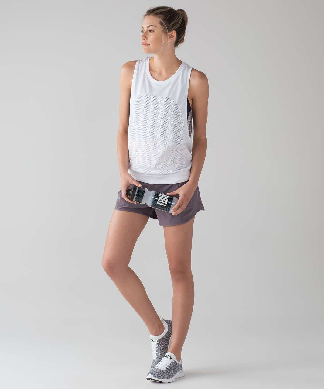 914bc2a762794 Lululemon Breeze By Muscle Tank II - White   White (First Release ...