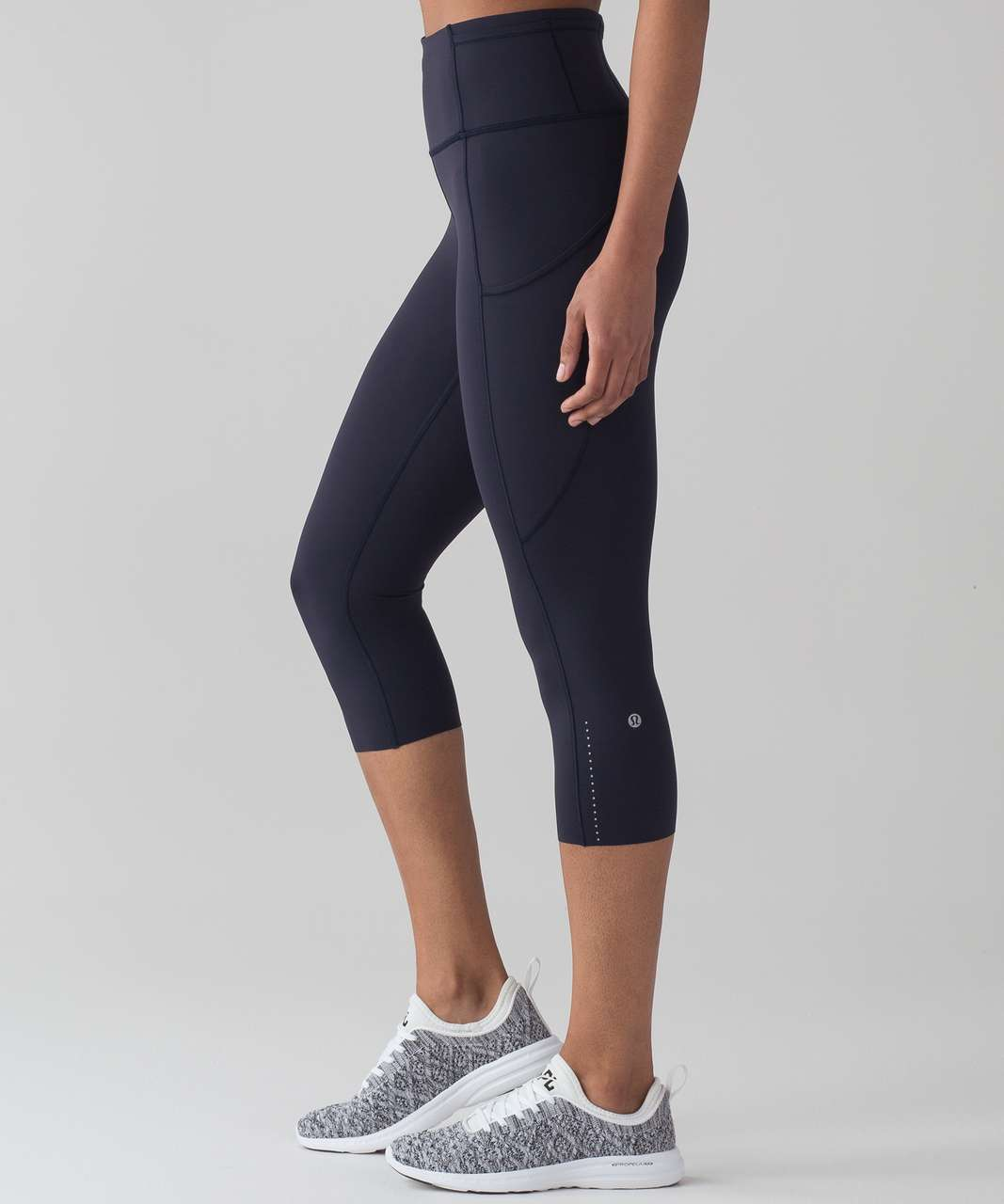 "Lululemon Fast & Free Crop II *Nulux 19"" - Midnight Navy"