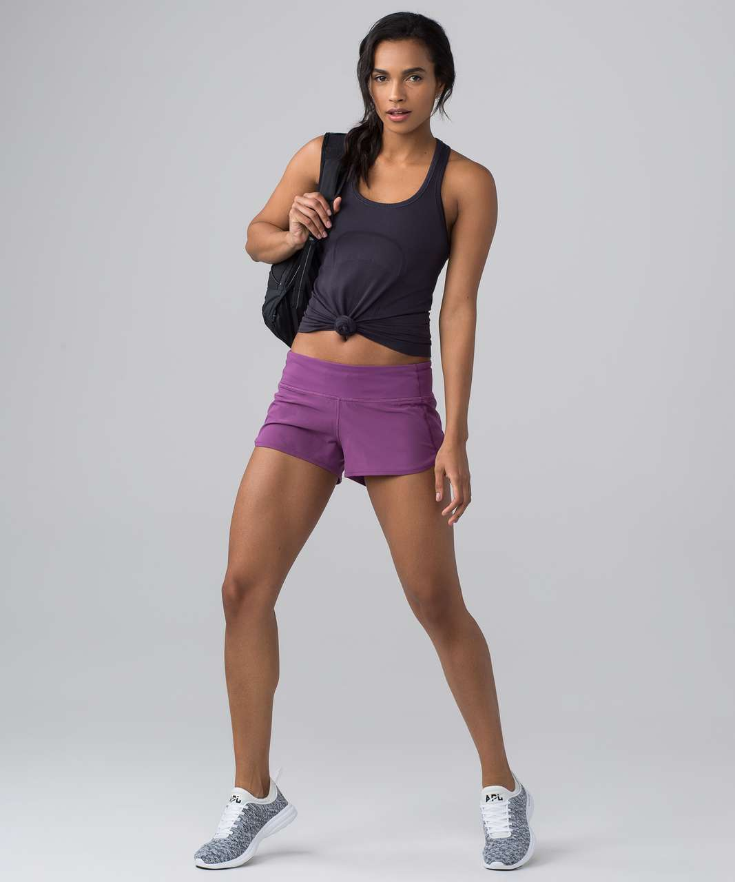 Lululemon Swiftly Tech Racerback - Boysenberry / Boysenberry