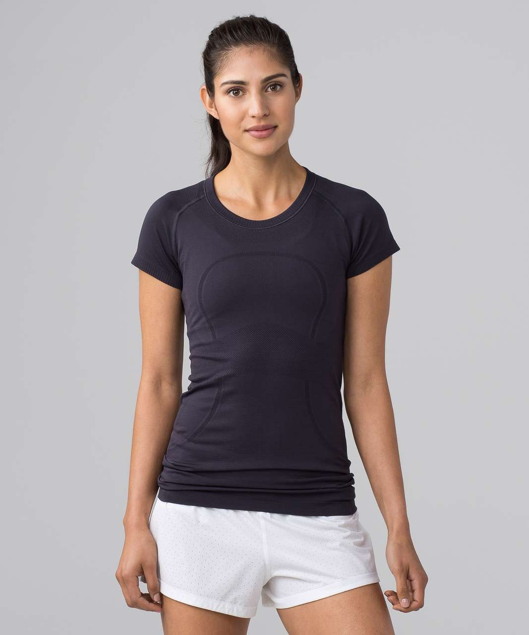 Lululemon Swiftly Tech Short Sleeve Crew - Boysenberry / Boysenberry