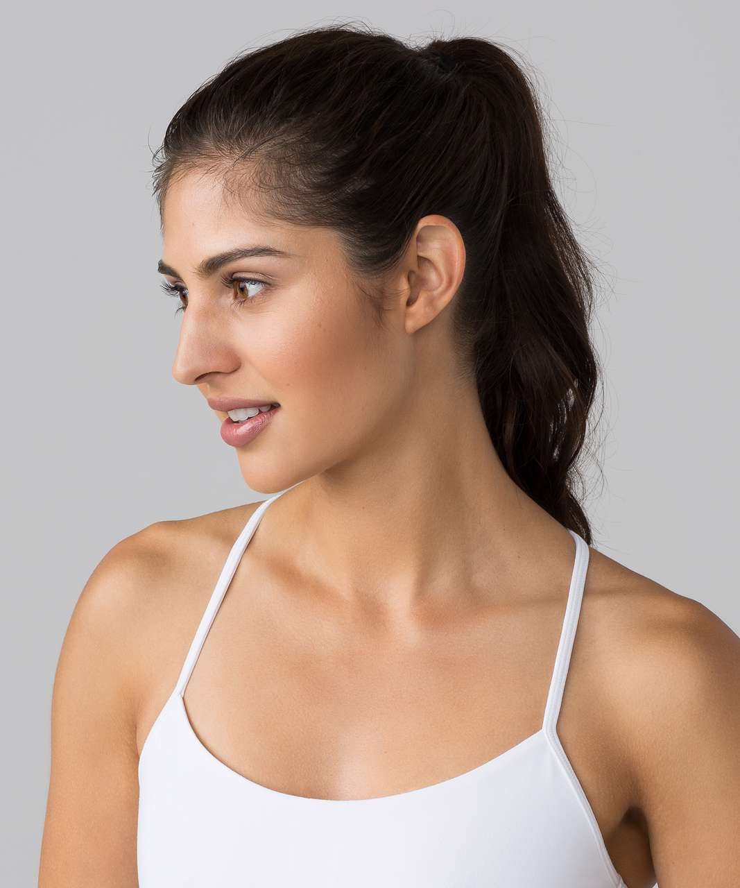 Lululemon Power Pose Tank *Light Support For A/B Cup - White