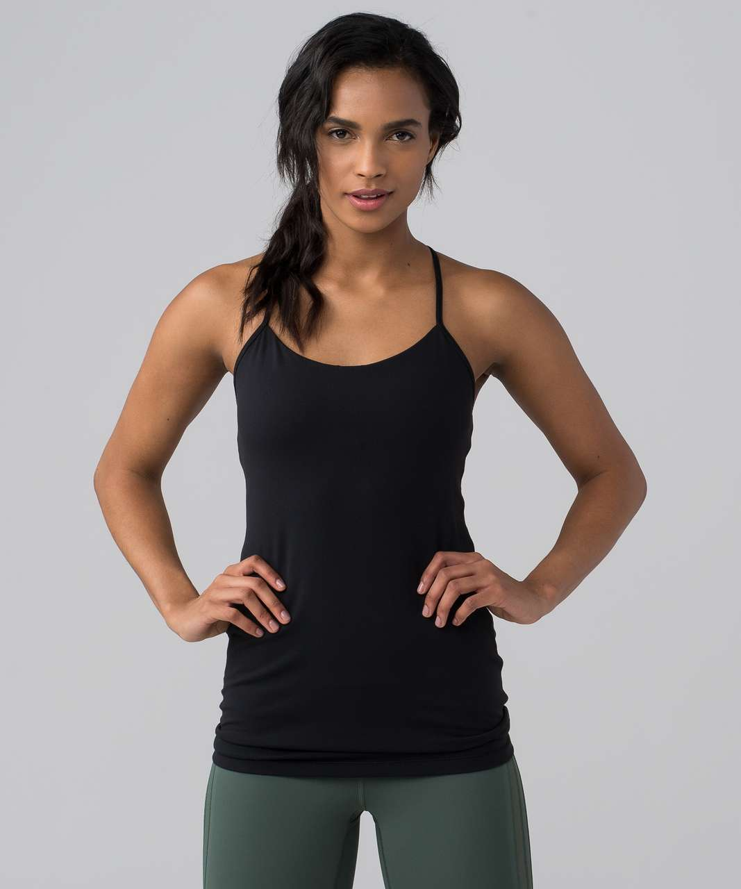 Lululemon Power Pose Tank *Light Support For A/B Cup - Black