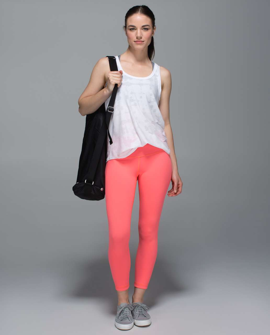 Lululemon High Times Pant - Grapefruit / Slate