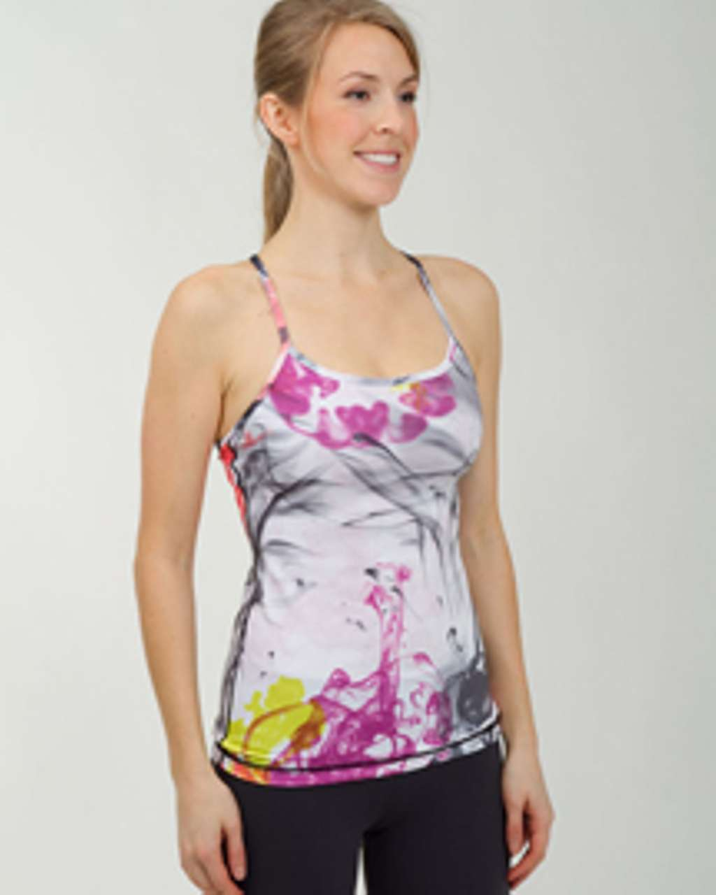 Lululemon Power Y Tank - Unicorn Tears