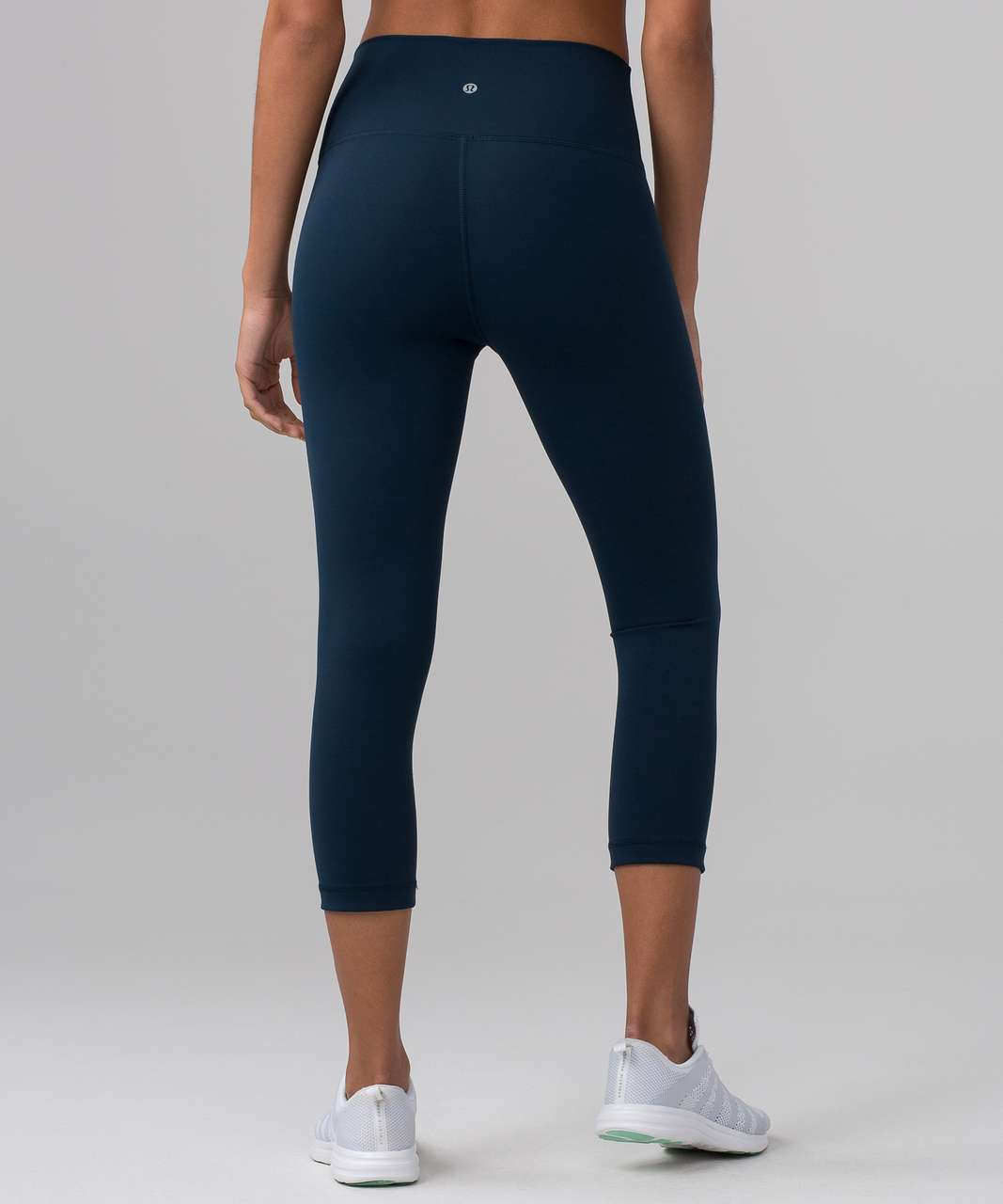 "Lululemon Wunder Under Crop (Hi-Rise) (Full-On Luxtreme 21"") - Jaded"