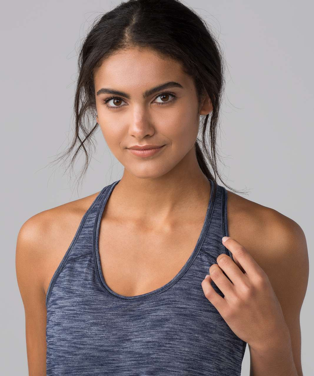 Lululemon Essential Tank - Heathered Deep Navy