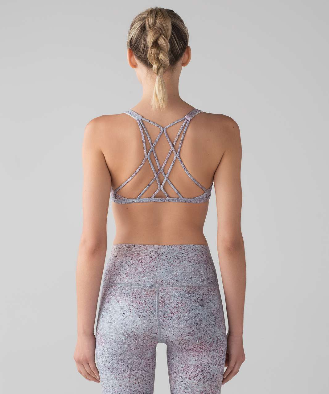 08c934cf18 Lululemon Free To Be Zen Bra - Summer Haze Multi - lulu fanatics