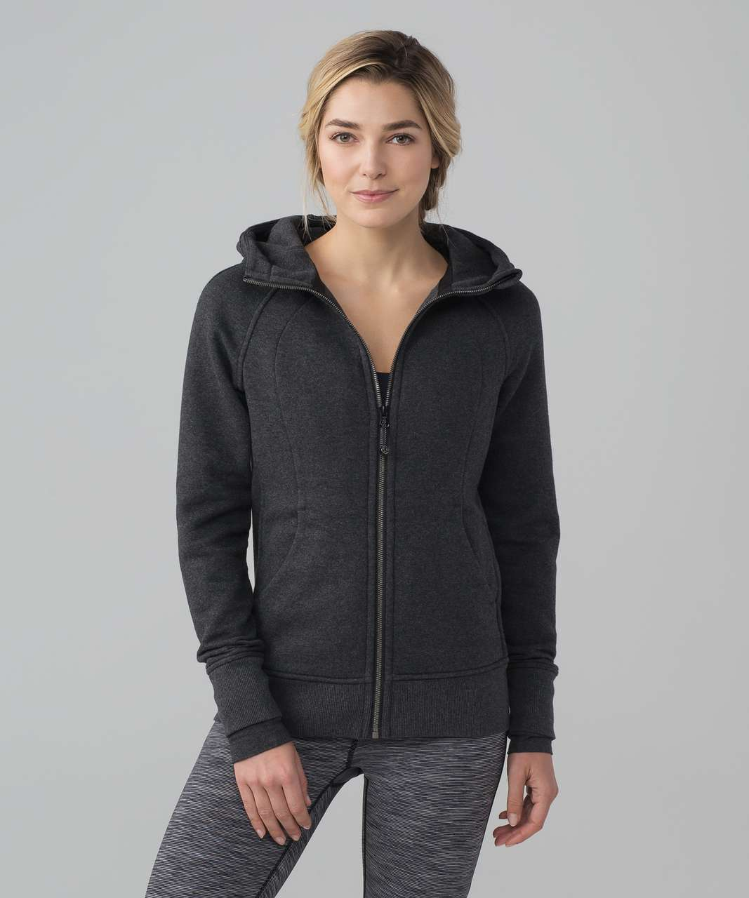 Lululemon Scuba Hoodie III (Storage) - Heathered Black