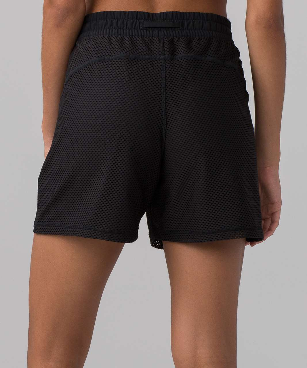 "Lululemon Mesh On Mesh Short (5"") - Black"