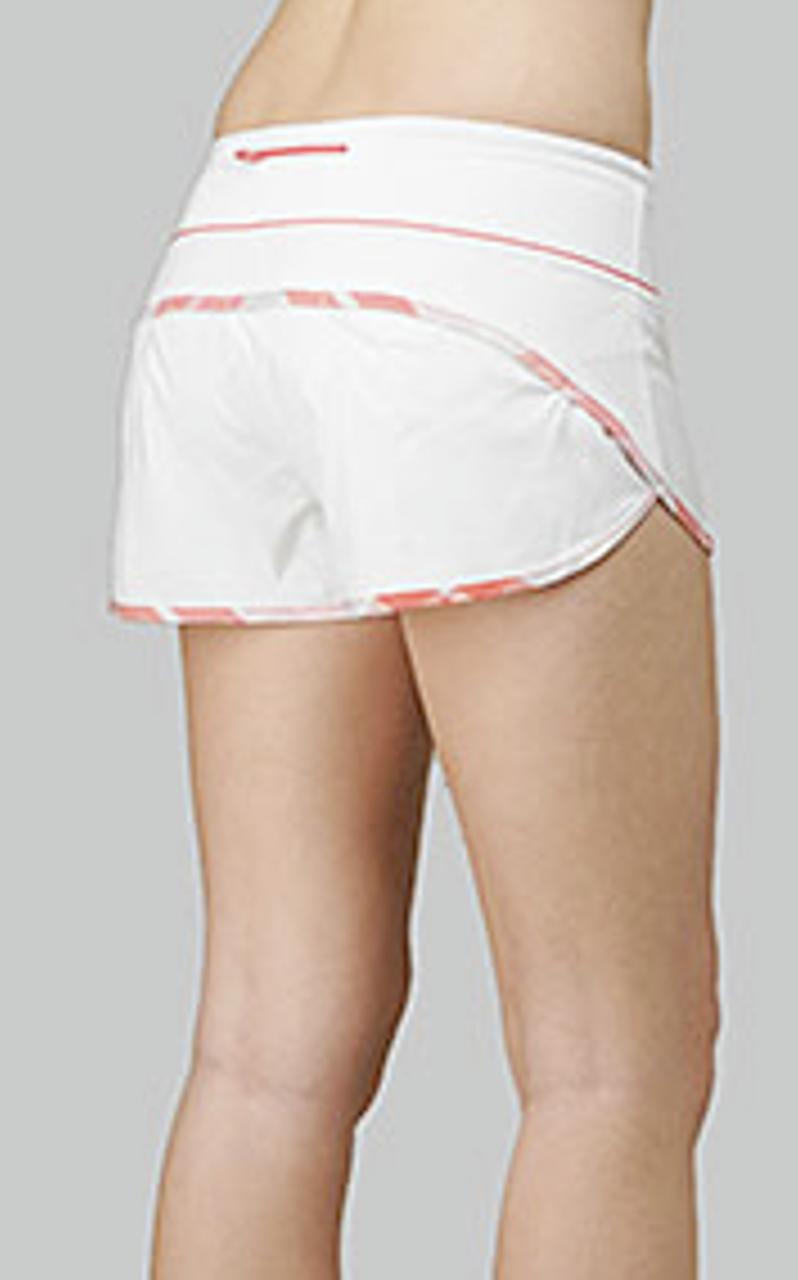 Lululemon Speed Short - White / Passion