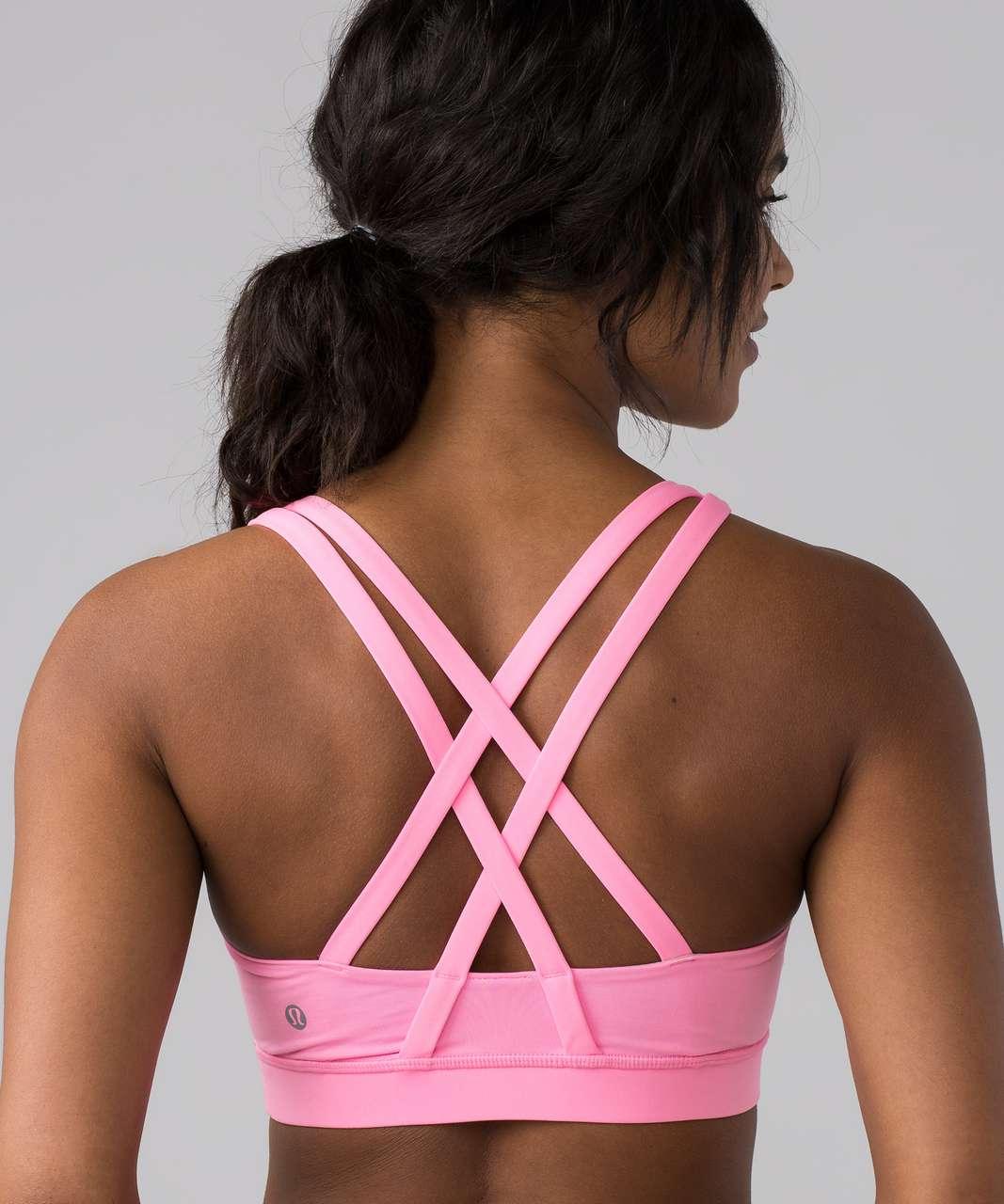 Lululemon Energy Bra - Pink Shell
