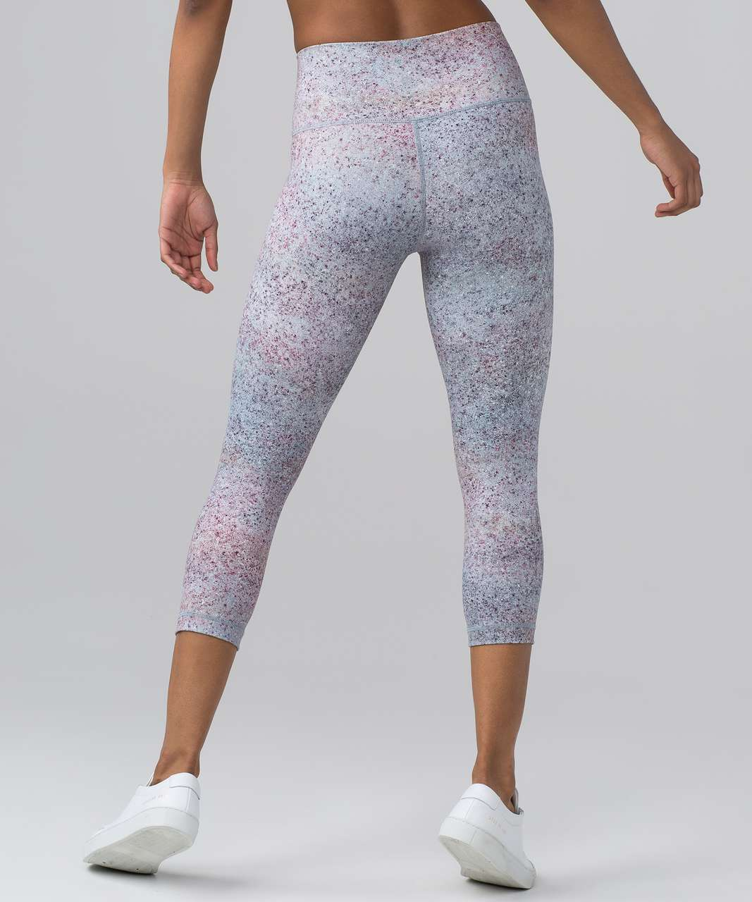 "Lululemon Wunder Under Crop (Hi-Rise) (Full-On Luxtreme 21"") - Summer Haze Multi"