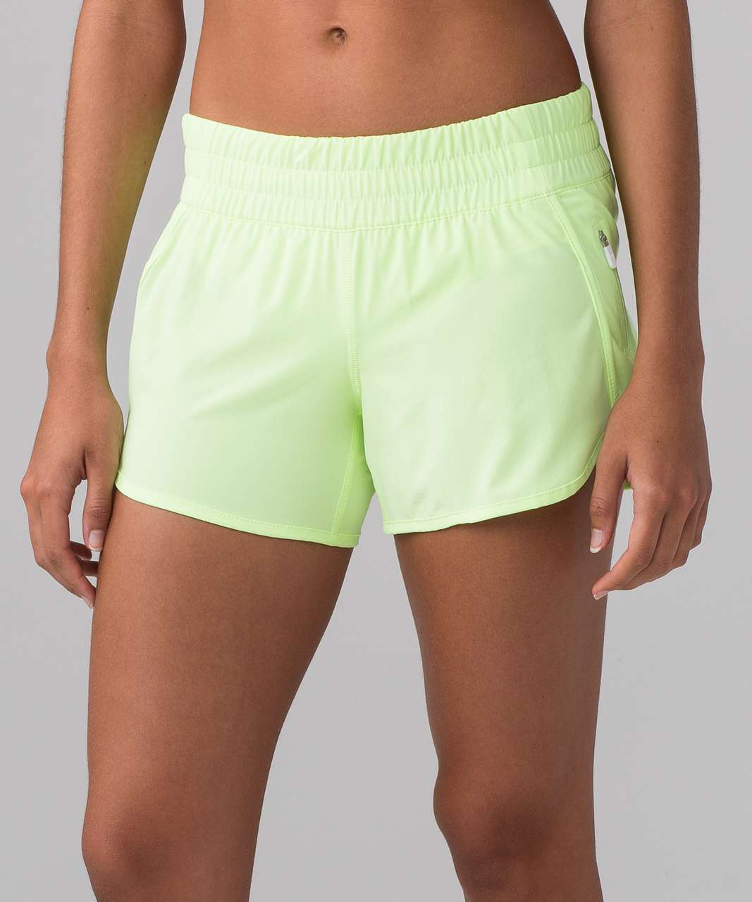 "Lululemon Tracker Short V (4"") - Faded Zap"