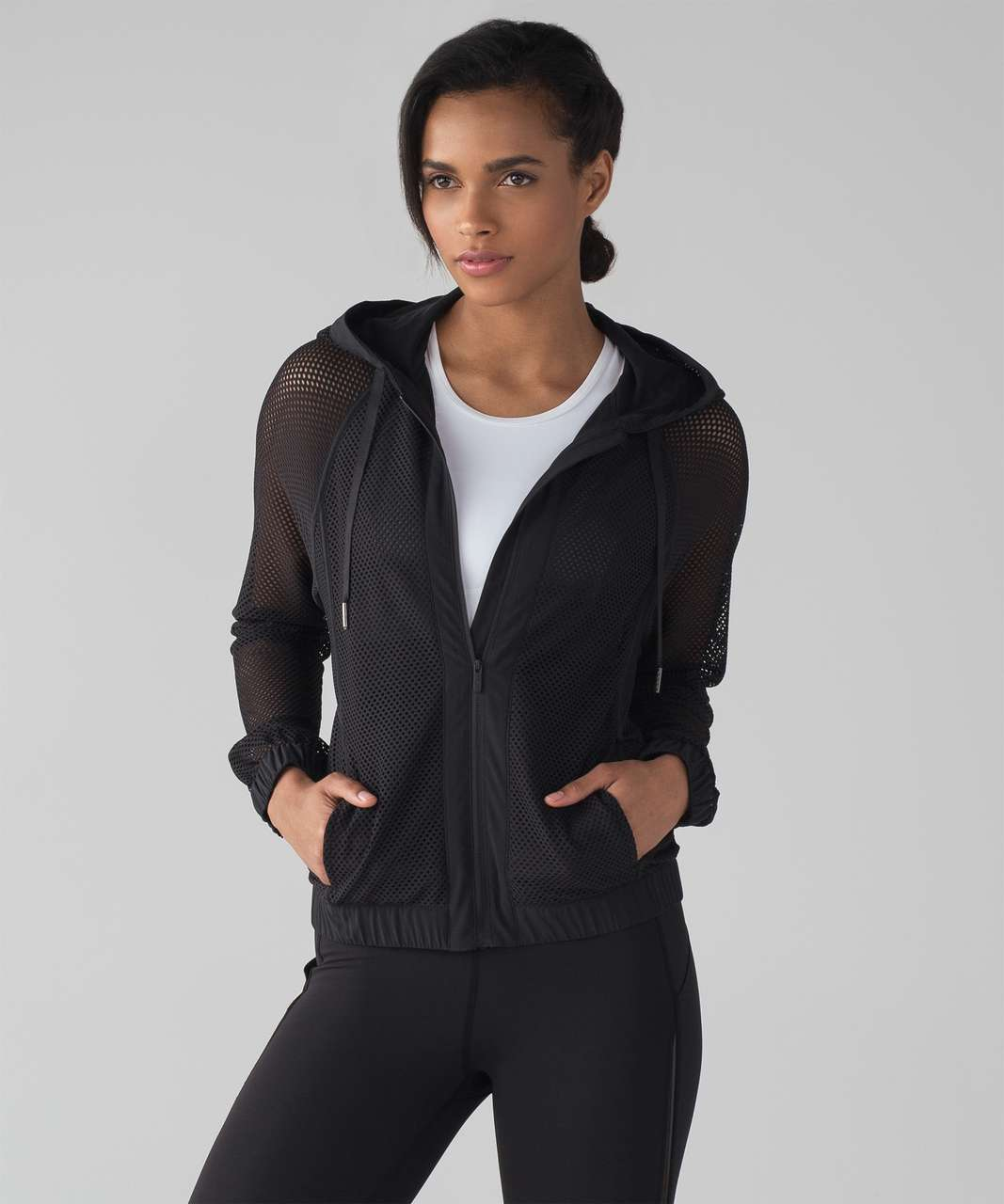 Lululemon Mesh on Mesh Jacket - Black