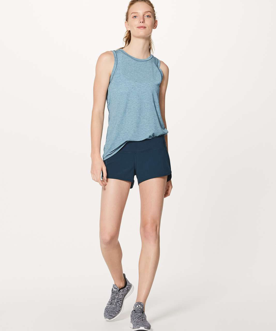 "Lululemon Speed Short (4-way Stretch 2.5"") - Jaded"