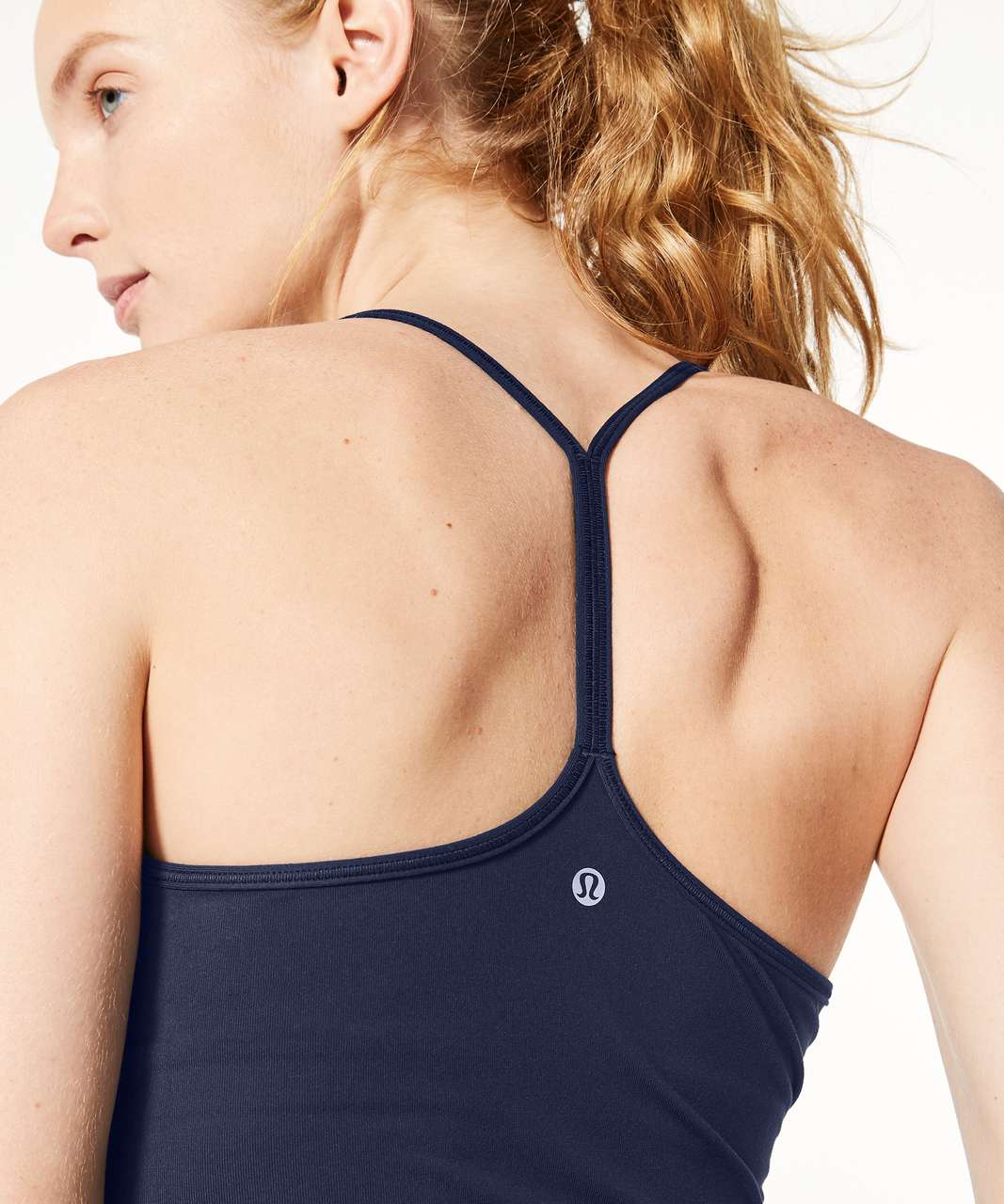 Lululemon Power Pose Tank *Light Support For A/B Cup - Midnight Navy