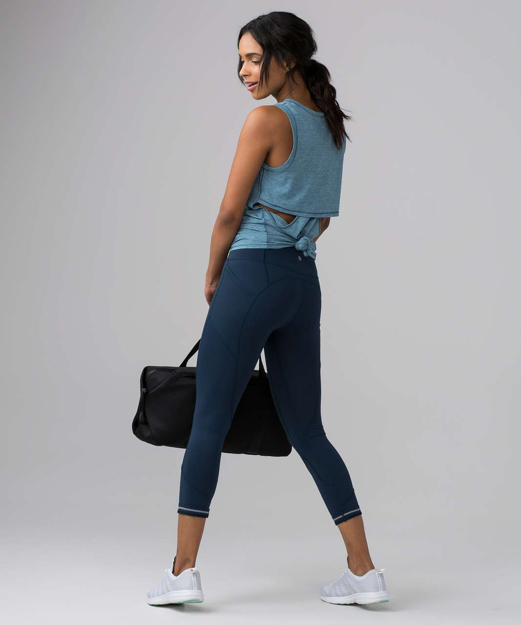 """Lululemon All The Right Places Crop II *23"""" - Jaded"""
