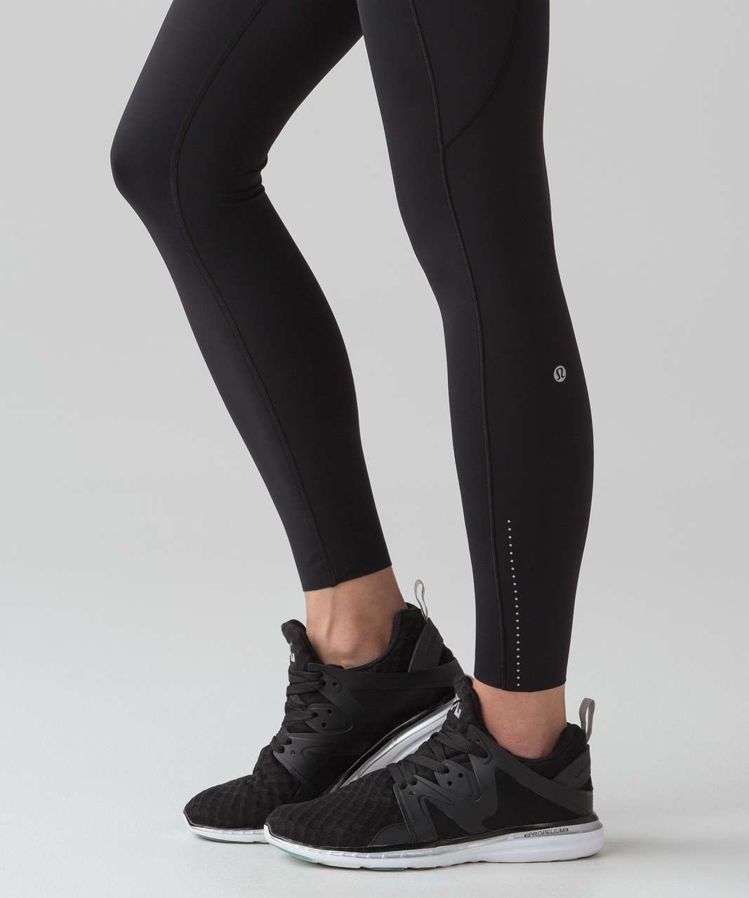 "Lululemon Fast & Free 7/8 Tight II *Nulux 25"" - Black (First Release)"