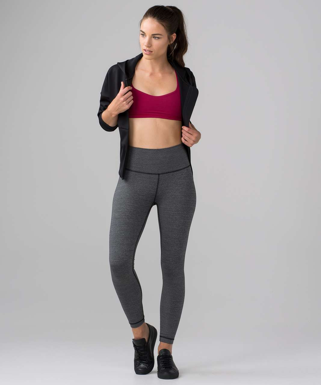 Lululemon Free To Be Bra - Berry Rumble