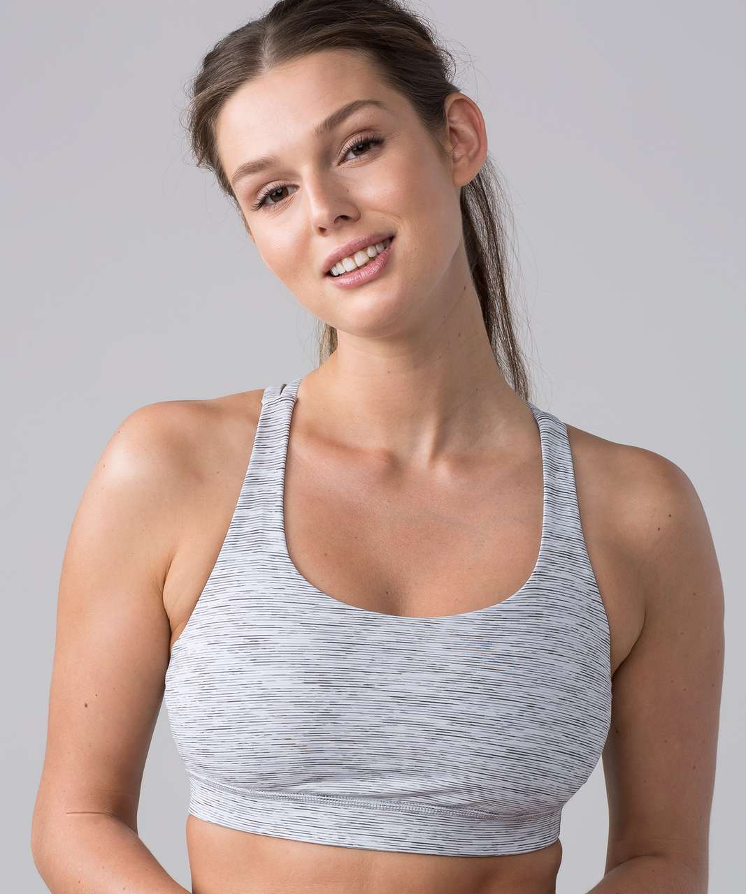 Lululemon Energy Bra - Wee Are From Space Ice Grey Alpine White