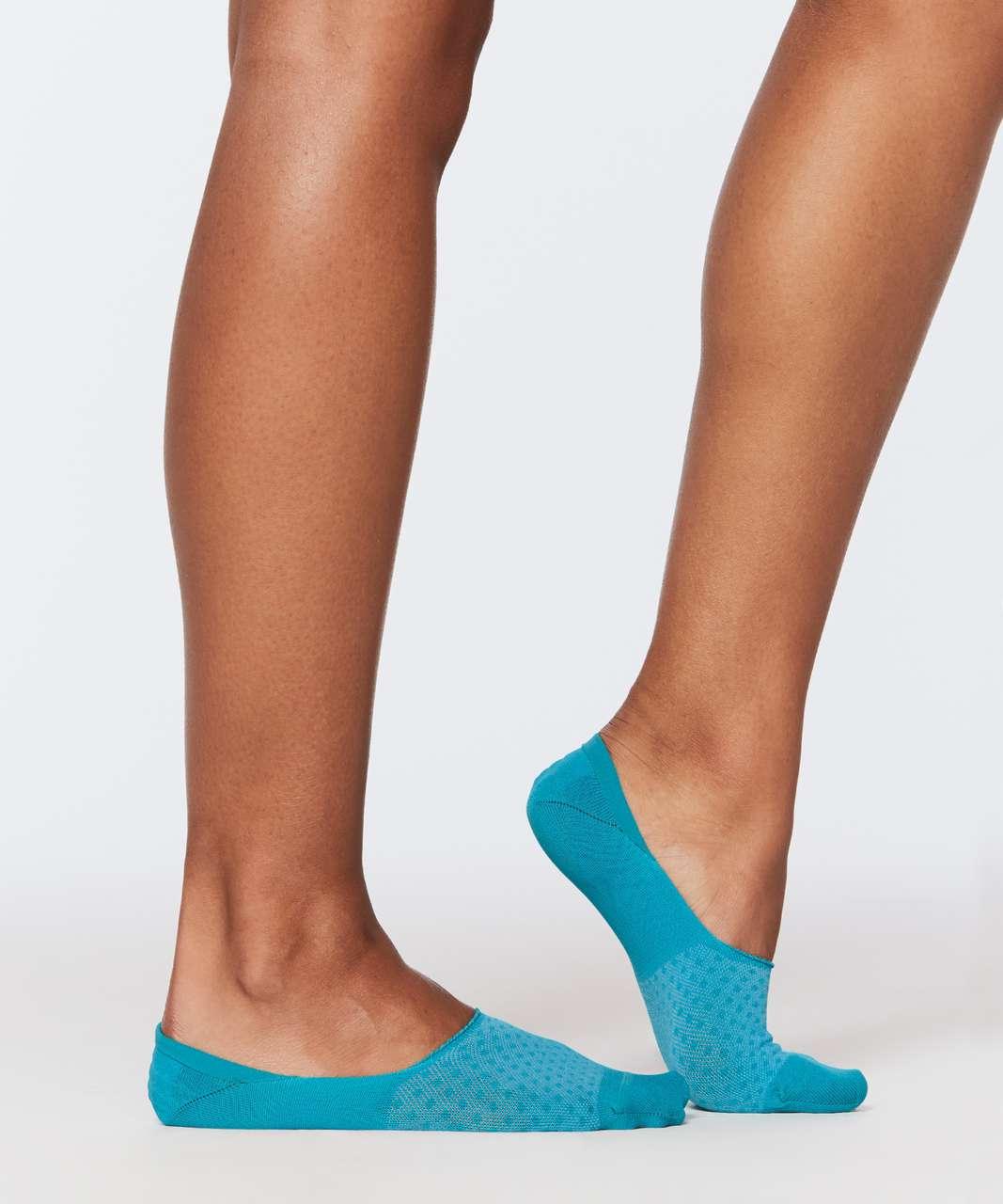 Lululemon Secret Sock - Bleacher Blue / White