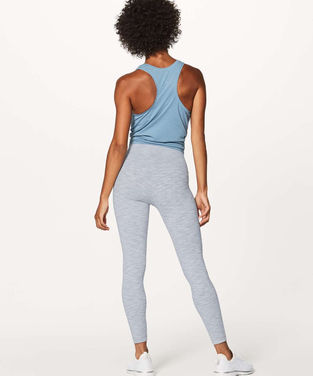 "Lululemon Wunder Under Hi-Rise 7/8 Tight *Luxtreme 25"" - Wee Are From Space Ice Grey Alpine White"