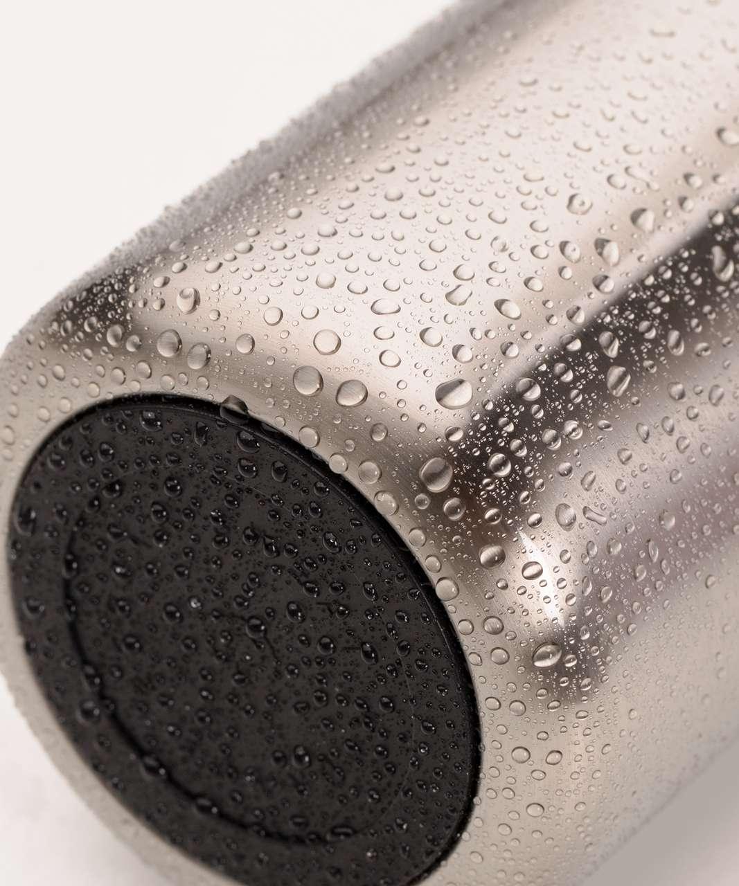 c1364a06e1 Lululemon Refresh Hot/Cold Bottle - Brushed Silver - lulu fanatics