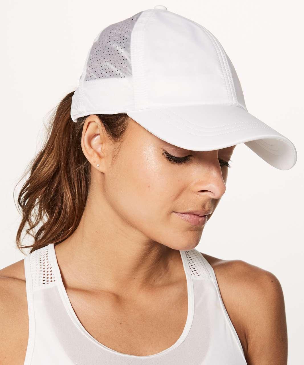Lululemon Baller Hat (Translucent) - White