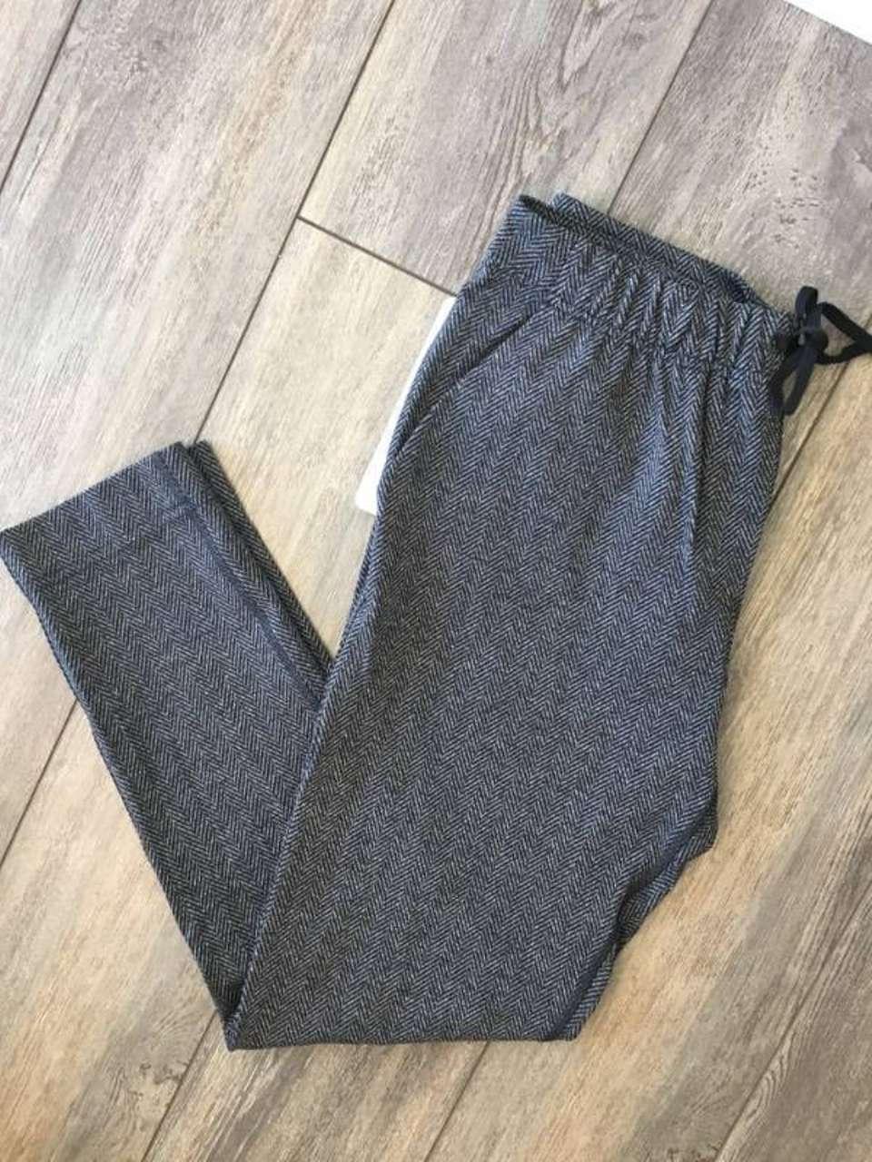 Lululemon Jet Crop (Slim) - Giant Herringbone Black Heathered Black