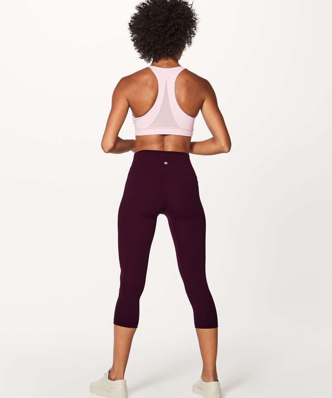 "Lululemon Wunder Under Crop (Hi-Rise) (Full-On Luxtreme 21"") - Dark Adobe"