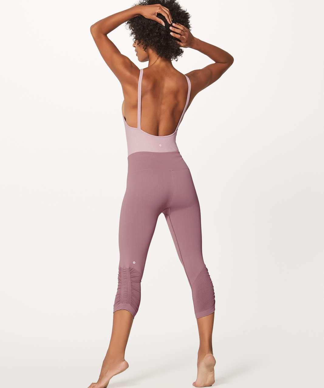 Lululemon Heart Opener Bodysuit (Taryn Toomey Collection) - Porcelain Pink