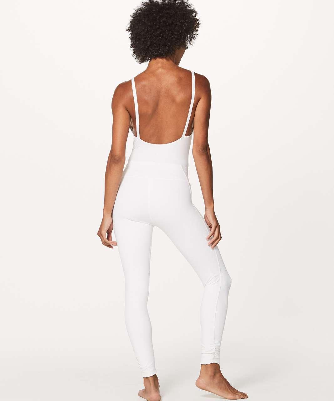 Lululemon Heart Opener Bodysuit (Taryn Toomey Collection) - White