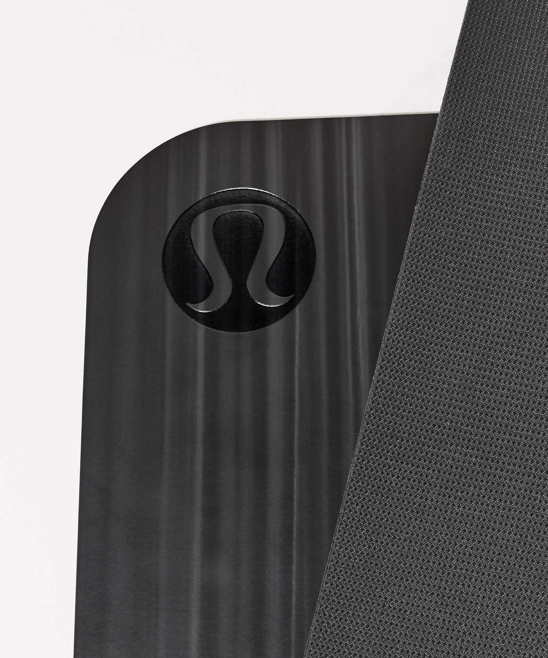 Lululemon The Reversible Mat 5mm - Black / White / Black