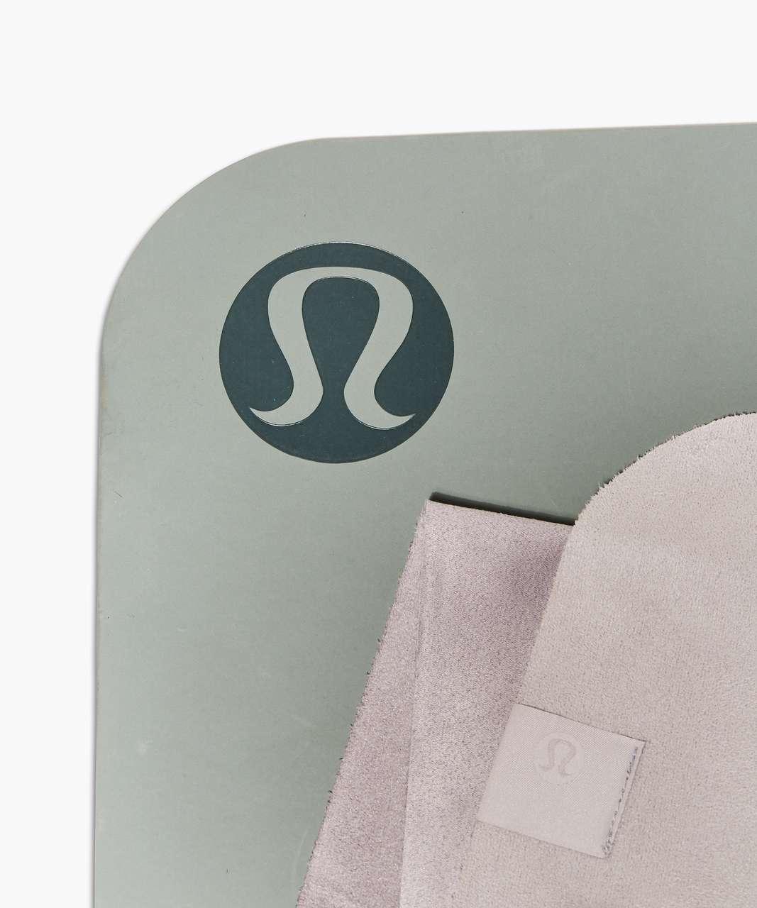 Lululemon The (Small) Towel (Taryn Toomey Collection) - Taryn Toomey Towel Chrome Dark Chrome