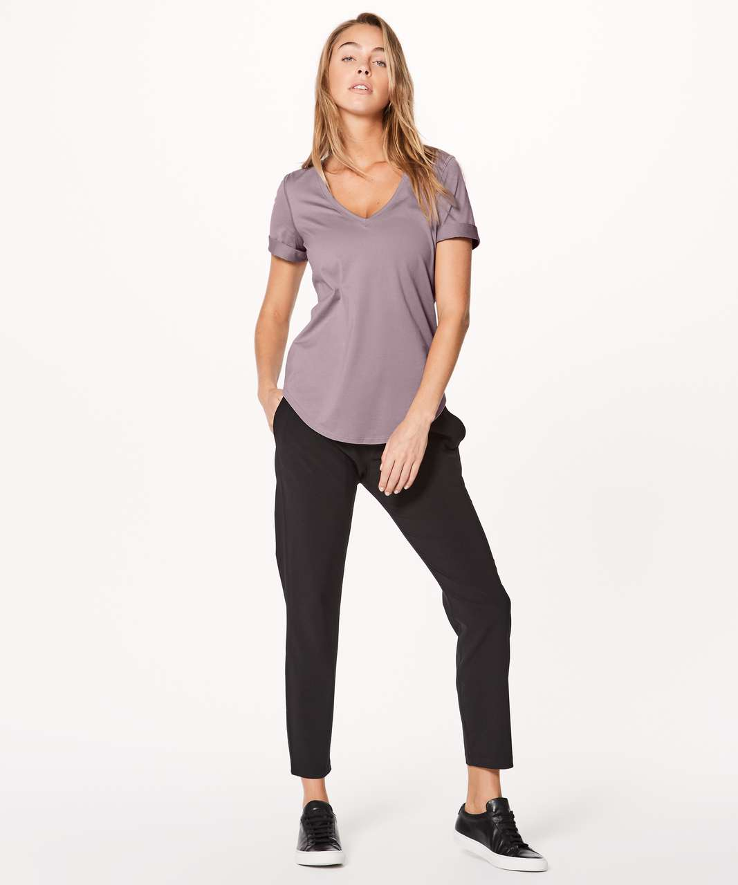 Lululemon Love Tee II - Misty Mauve