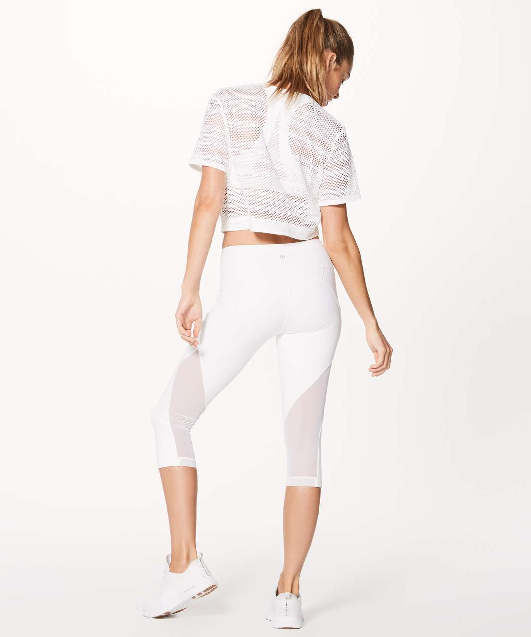 59933c915e1b3 Lululemon Sweat Your Heart Out Short Sleeve - White (First Release ...