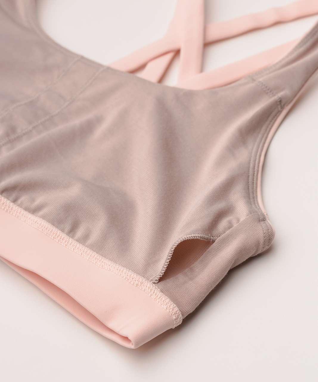 Lululemon Energy Bra - Butter Pink