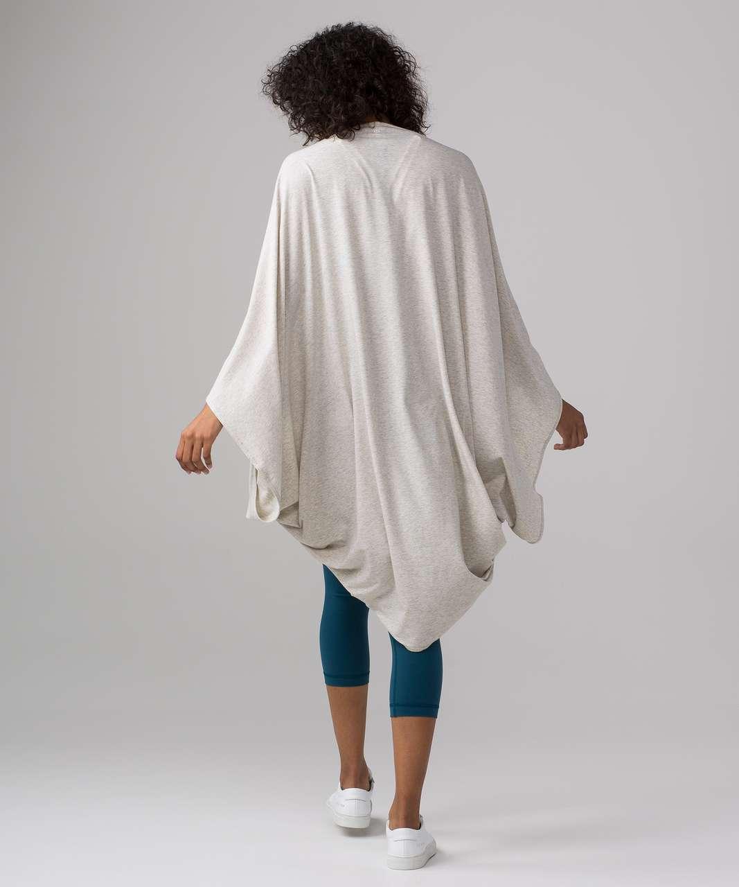 Lululemon Sage Scarf (Cotton) - Heathered Light Grey